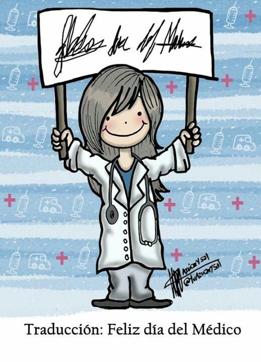 Feliz día del medico a mi doctora favorita :) TQ