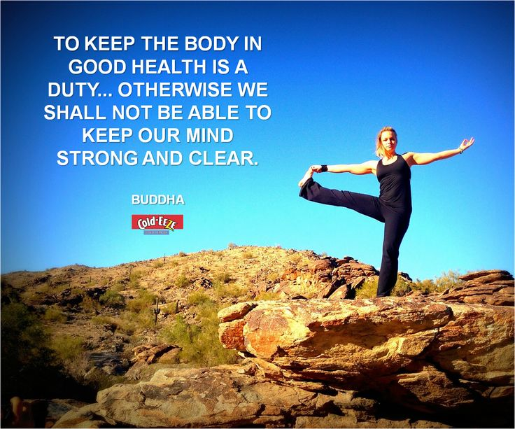 To keep the body in good health is a duty... otherwise we shall not be able to keep our mind strong and clear. -Buddha #MondayMotivation