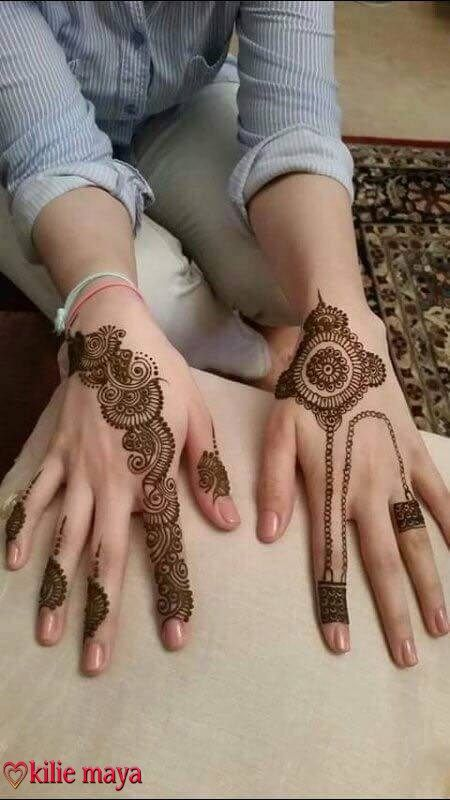 henna or mehndi designs kilie maya a - Henn Ou Coloration