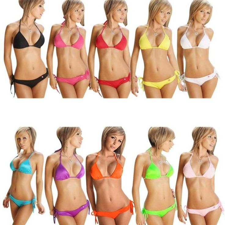 2.13$  Watch now - http://alioxm.shopchina.info/go.php?t=32807508735 - Summer Women Bikini Set  Hot Selling Push-up Bandeau Bra Bandage Swimsuit Bathing Suit Swimwear Costume Da Bagno Donna #1 2.13$ #magazine