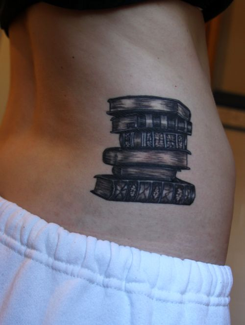 My daughter loves to read and when she is old enough, she wants a tattoo.  I told her that she should get this one.