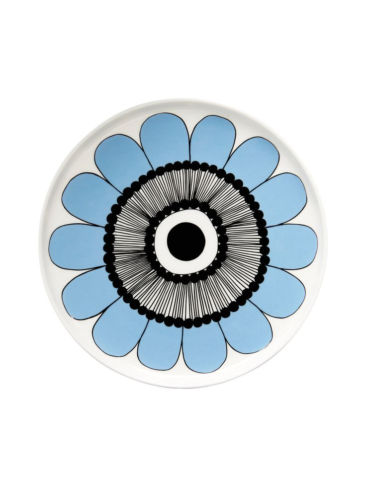 Oiva/Kestit plate by Marimekko. Special Edition for Stockmann.