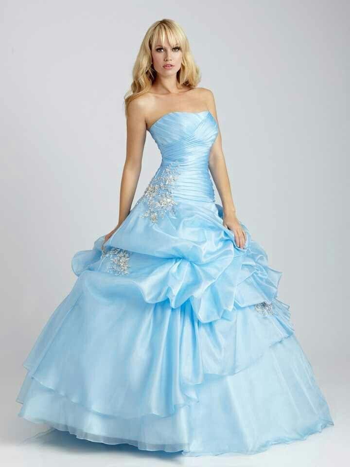 Long Blue Sweet 16 Dress Cinderella Sweet 16 Pinterest Blue