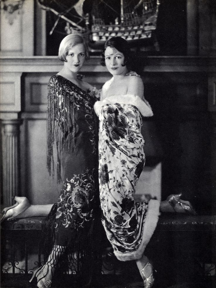 Constance and Norma Talmadge - sister silent film stars - at home in California Photo orignally published in A Pictorial History of the Silent Screen Image Source: Flapperjane