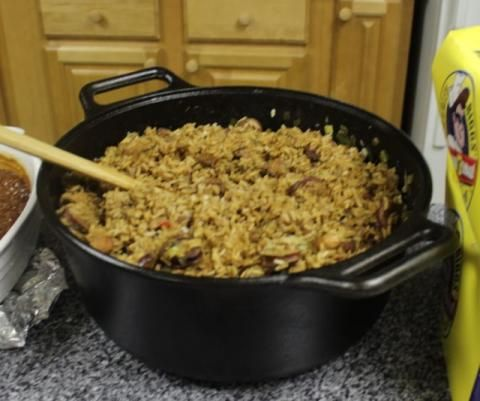 Chef John Folse - Chicken and Sausage Jambalaya