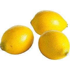 yellow: Faux Lemons, Artificial Lemon