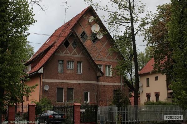 старые немецкие дома - фото #4