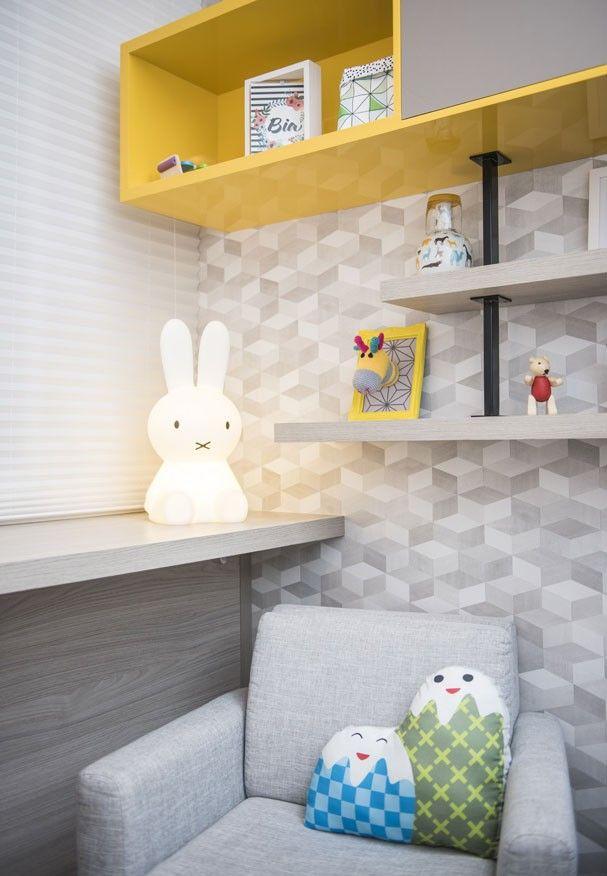 Lu Ferreira mostra um quarto infantil contemporâneo