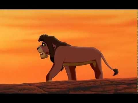 Lion King 2 Simba S Pride Kovu Kiara Kovu Simba 2004 Dvd Version Youtube Lion King Lion King 2 Lion King 2 Kovu
