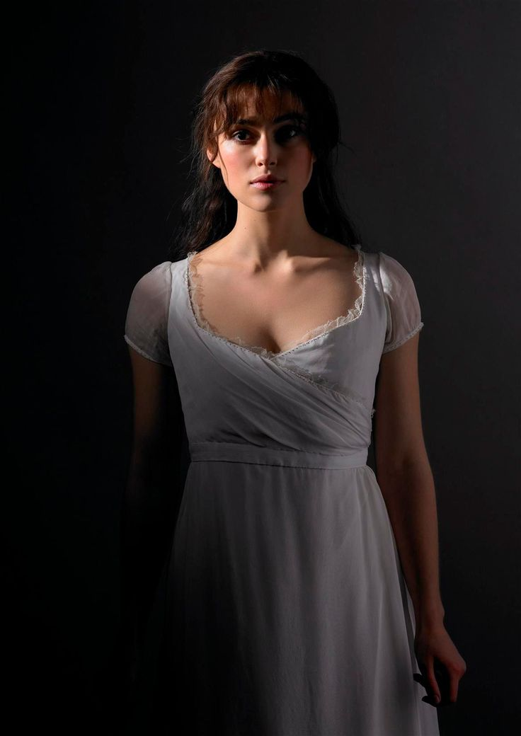 Elizabeth Bennet (Kiera Knightly) in Pride & Prejudice. The movie did such justice to the book.