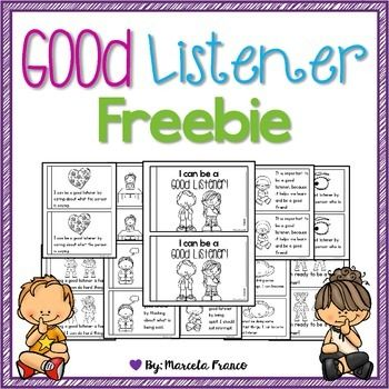 Listening is a work of heart!  Your students will read and learn about how to listen with their whole body and practice good listening skills with this little 10 page reader. I hope you and your students find this helpful and enjoyable!*****************************************************************************This is part of a bigger resource that you may find here: Be a Good Listener Resource with Craftivity***************************************************************************** Be…