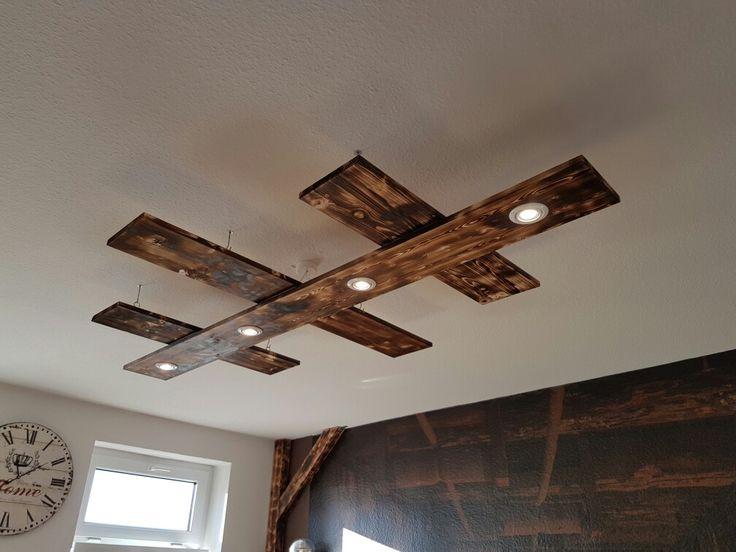 Meine neue Wohnzimmerlampe schwenkbare LEDs mit 53Watt sehr hell und gro  Lampen