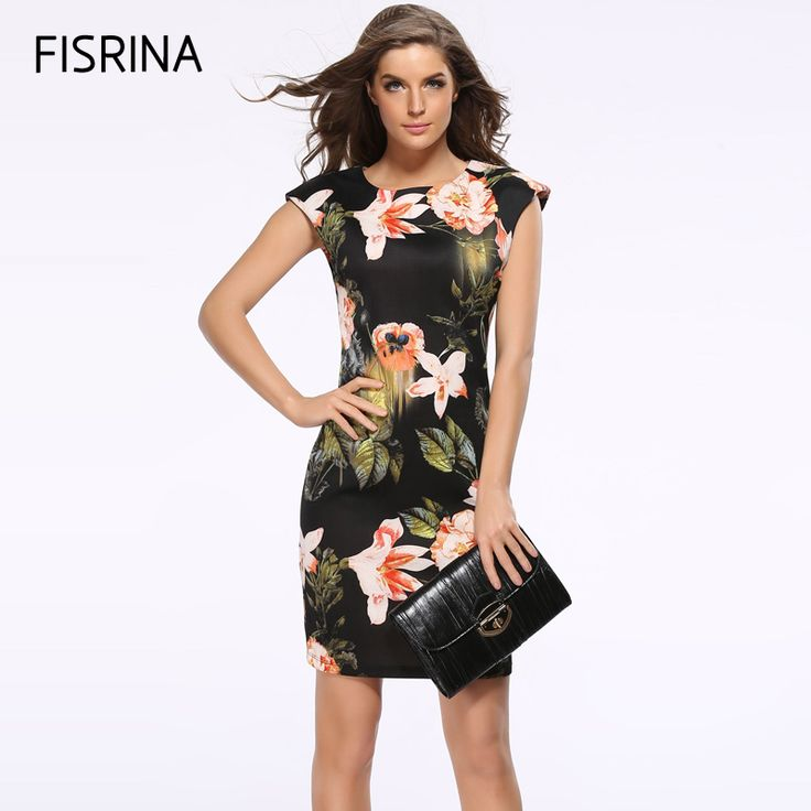 Find More Dresses Information about 2017 Fashion Free Shipping Designer Women Dress Elegant Floral Print Work Business Casual Party Pencil Sheath chinese style,High Quality Dresses from Love world Store on Aliexpress.com