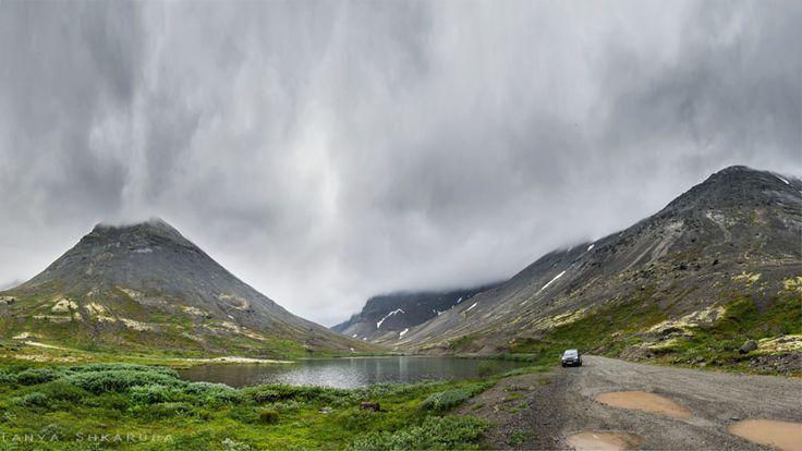 Фотография, как медитация!: Компас на Север, дорога в Хибины.