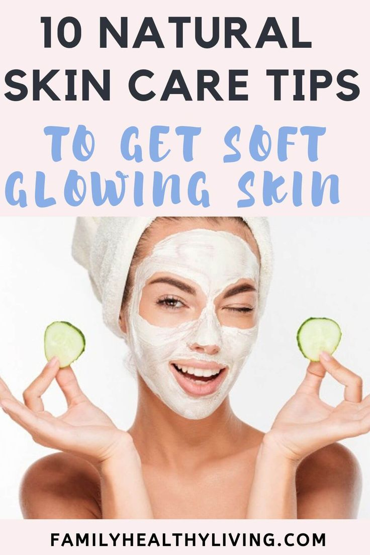 10 Natural Skin Care Tips | Free of colors & preservatives ...