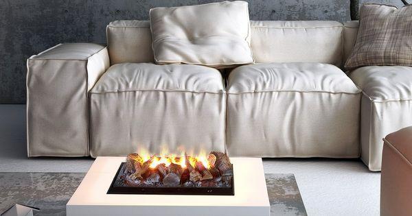 Rigoletto electric water fuelled fireplace - ARREDACLICK - #TODesign #interiordesign - via Jake Favour - http://ift.tt/1IqPtAp interiordesign