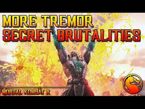 MKX: More Tremor Secret Brutalities