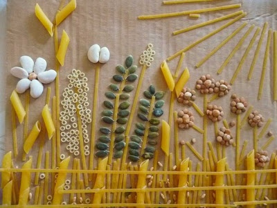 seed art - use for science art lesson