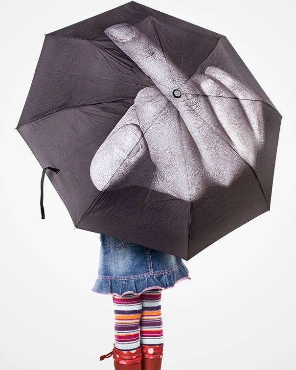 love it: Hate Rainy, Rain Go Away, Creative Umbrellas, Niftyrandom Things, Rain Umbrellas, Funny Umbrellas, Fingers Umbrellas, Design Blog, Rainy Day Fun