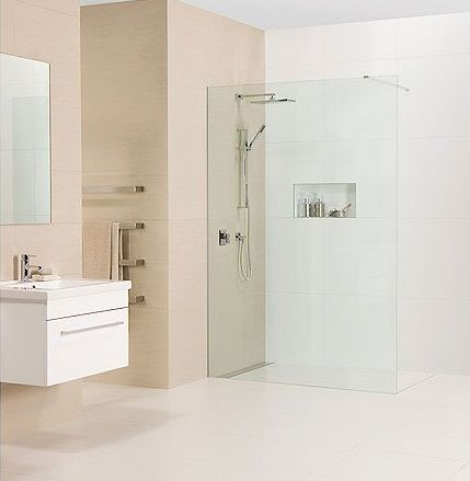 Linea Quattro Tiled Shower by Atlantis