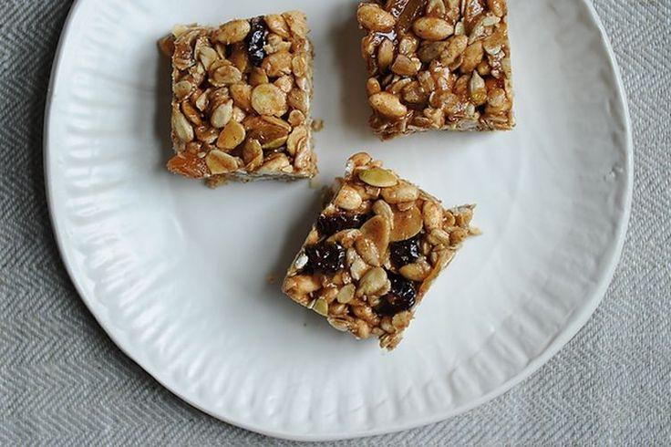 Sara's Granola Bars recipe on Food52 - honey & nut butter