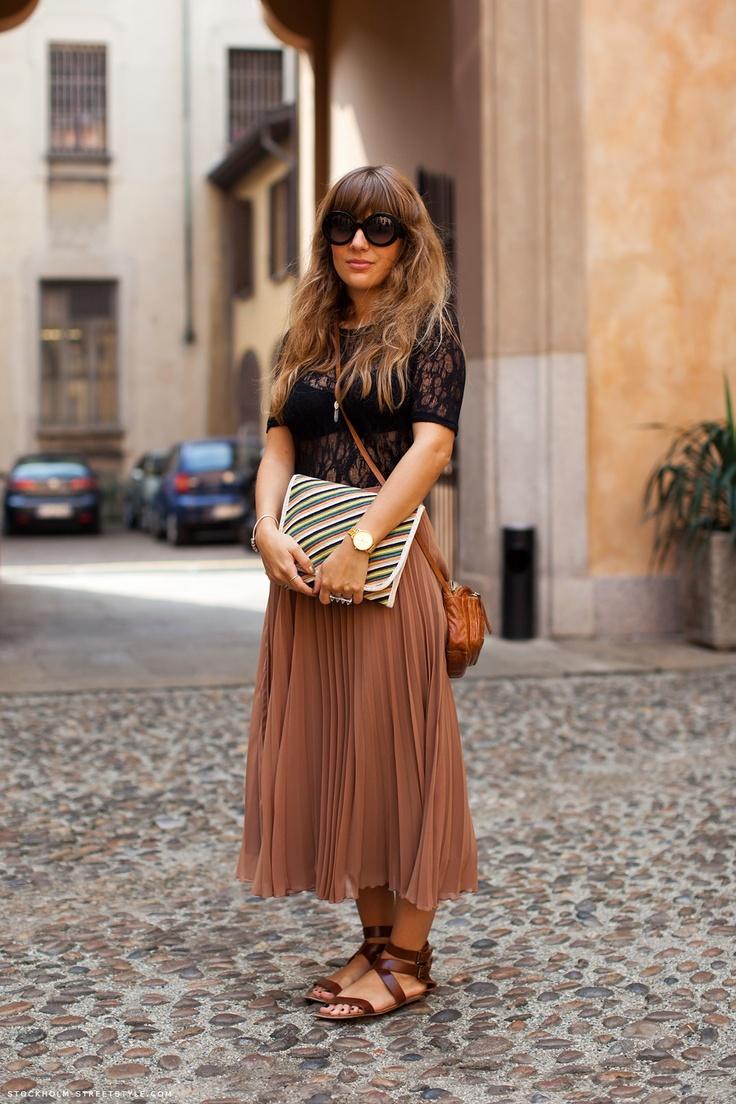 Pleats Style Fashion Pinterest