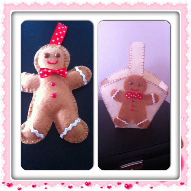 Gingerbread con fustella di Hobby di Carta