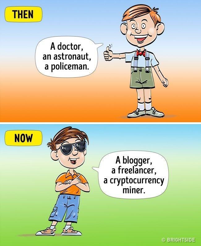 Kindheit Damals Und Heute 11 Comics Zeigen Einen Krassen Unterschied