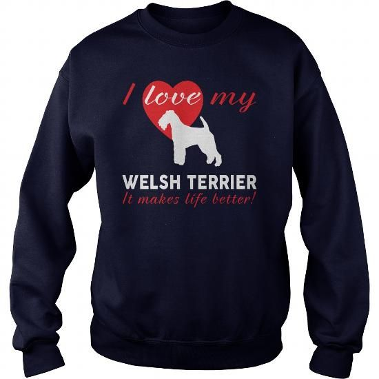 I LOVE MY WELSH TERRIER  CREW SWEATSHIRTS T-SHIRTS, HOODIES ( ==►►Click To Shopping Now) #i #love #my #welsh #terrier # #crew #sweatshirts #Dogfashion #Dogs #Dog #SunfrogTshirts #Sunfrogshirts #shirts #tshirt #hoodie #sweatshirt #fashion #style
