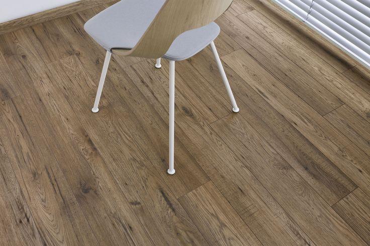 Formica Flooring in Dijon Oak.