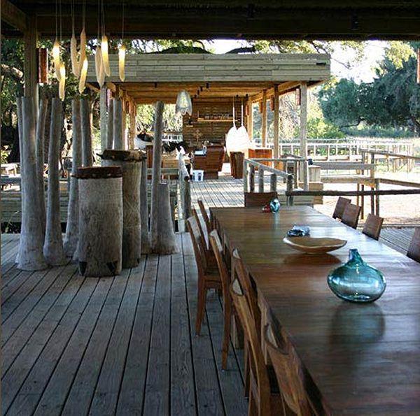 Luxury safari camp in Vumbura Plains