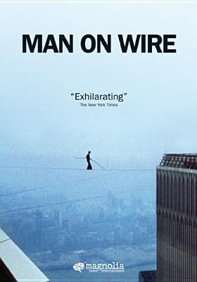 Cover image for Man on wire [DVD] / Magnolia Pictures, Discovery Films, BBC and the UK Film Council present a Wall to Wall production in association with Red Box Films ; produced by Simon Chinn ; directed by James Marsh.