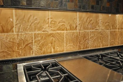 Kitchen backsplash tile designs ideas and colors with remodeling tips and 3d software tools for Kitchen backsplash design tool
