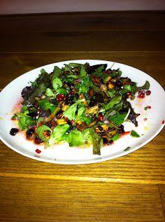 Dromen over koken enzo...: Aziatisch geïnspireerde salade met kip (of kalkoen)