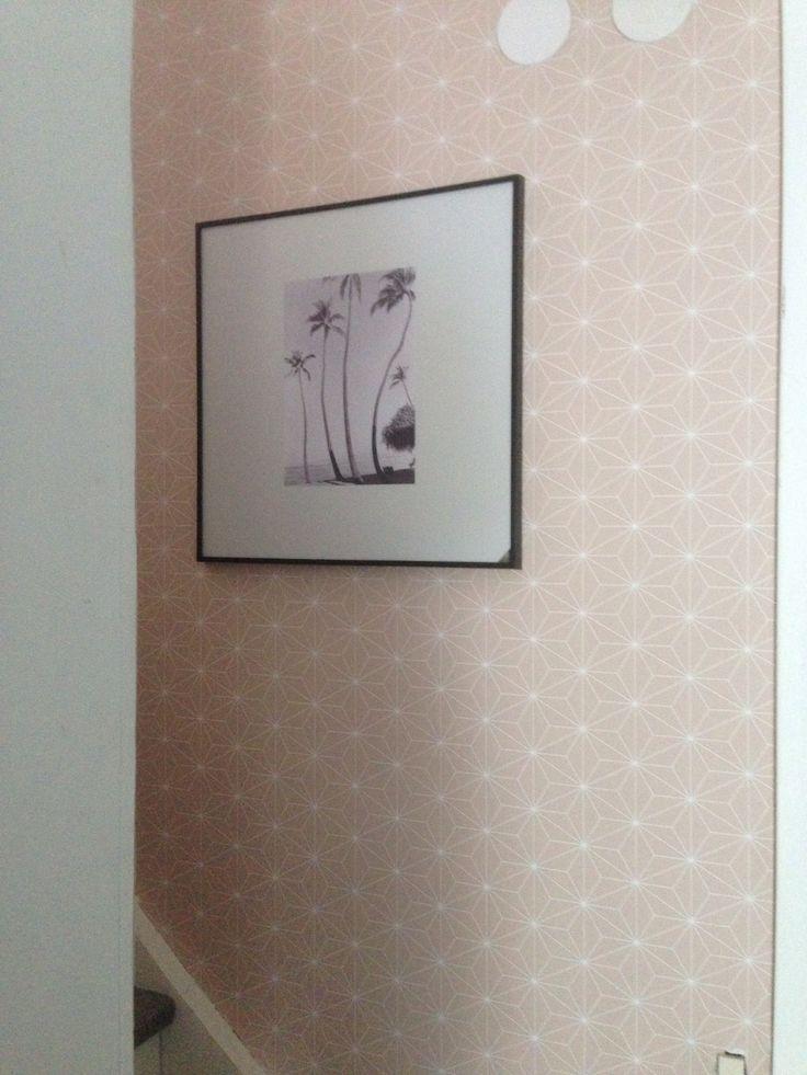 Ikea wallpaper  - peindre sur papier vinyl