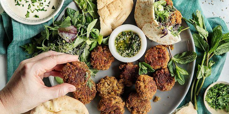 falafel oppskrift med røde linser