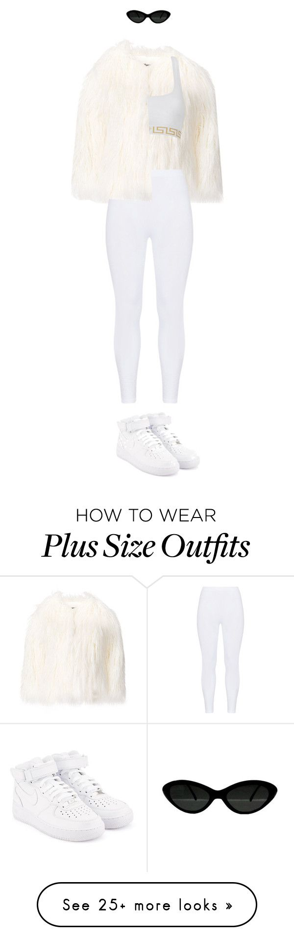 """""""White Iverson"""" by rikex on Polyvore featuring La Seine & Moi, Gozzip and NIKE"""