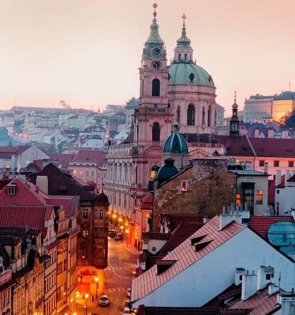 Prague, Czech Republic;  I left a little piece of my heart here.  Everyone must visit once in Summer and once during Winter.