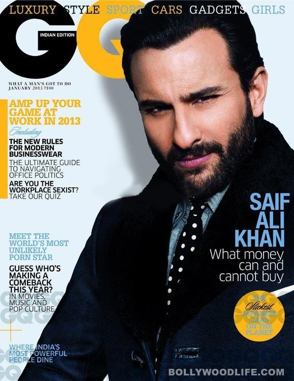 #January2013magazinecovers: #SaifAliKhan, Jacqueline Fernandez, Ranveer Singh, Sridevi look hot - Bollywood News & Gossip, Movie Reviews, Trailers & Videos at Bollywoodlife.com