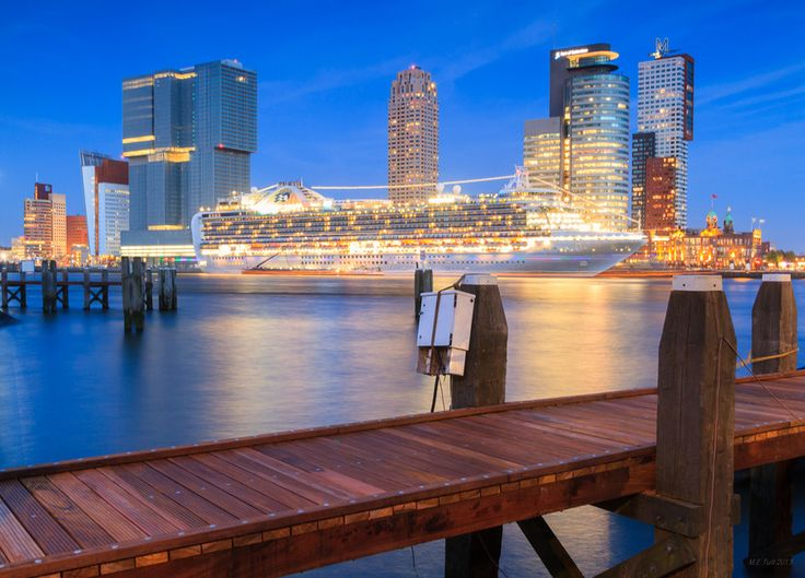 Cruise Ship @ Rotterdam by Marcel Tuit on 500px