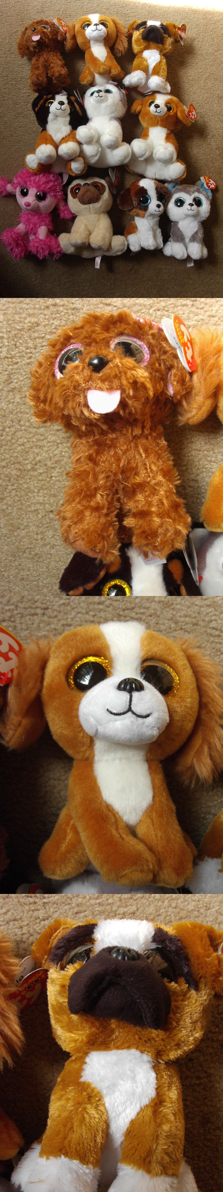 Current 438: New Lot 10 Ty Beanie Boos Plush Dogs Slush,Roscoe,Pat,Tala,Buff,Snick,Brutus,Bru -> BUY IT NOW ONLY: $38.99 on eBay!