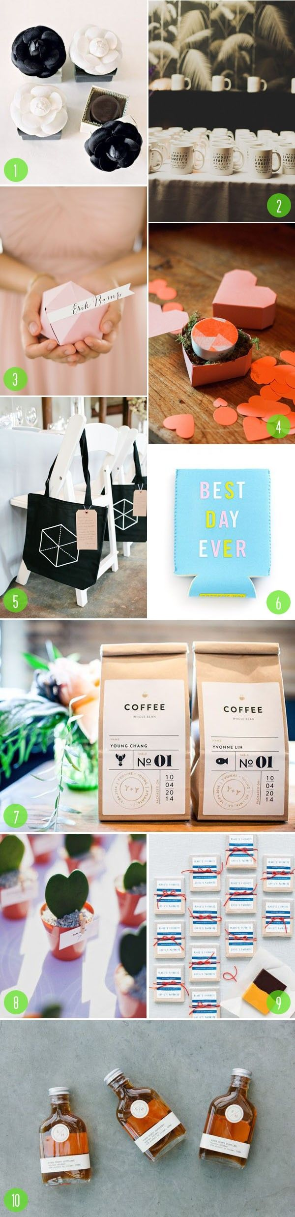 Coffee mug wedding favors - Top 10 Wedding Favors That Are Practical And The Best Gifts A Couple Can Give To
