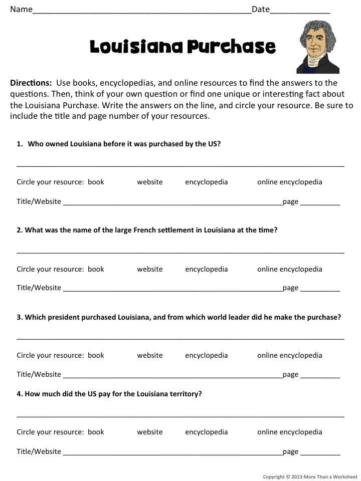 Us history worksheets 8th grade