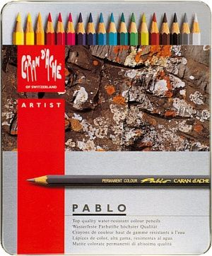 Caran D'Ache Pablo Artists' Pencils Tins