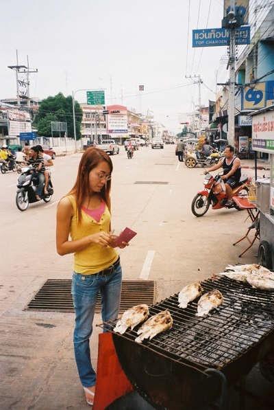 Khon Kaen Province, Northeast Thailand     /bbq fish