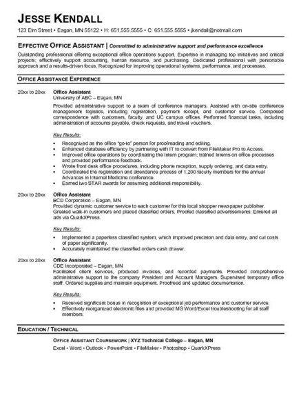Best 25+ Front office jobs ideas on Pinterest Front office - office worker resume