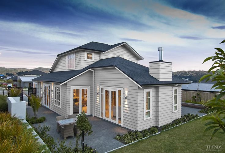 This top award-winning residence was offered with a range of personal options – it was created by Landmark Homes