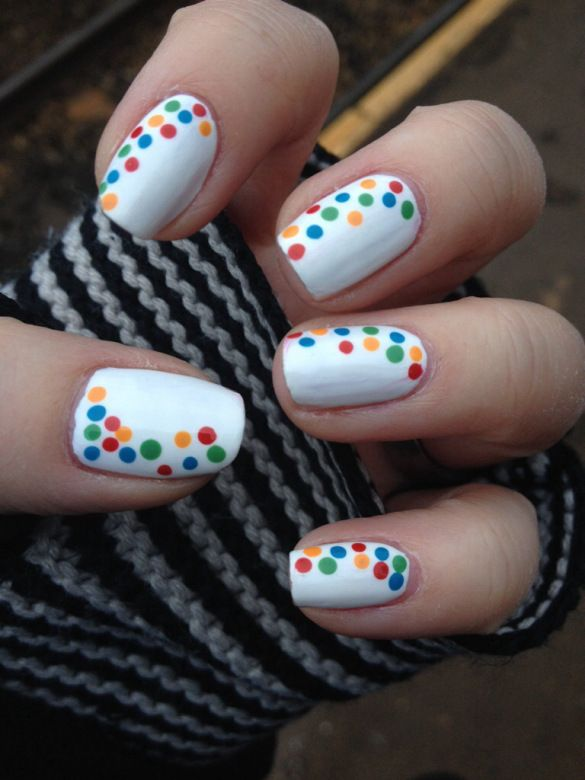 """""""Children In Need nails"""" by """"Painted Nails and Baking Scales"""""""