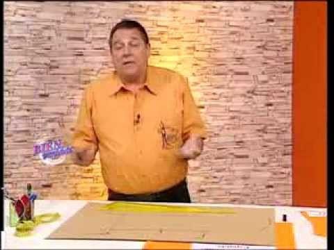 Explica la MOLDE BASE DE VESTIDO Hermenegildo Zampar - Bienvenidas TV - Explica la Base de Vestido.