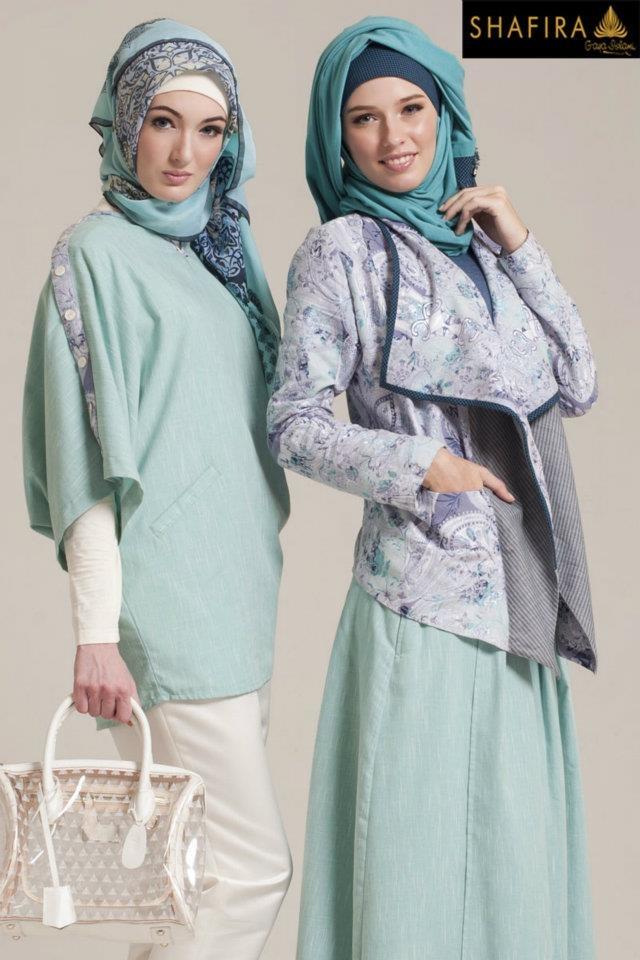 Turquoise ❤ hijab style